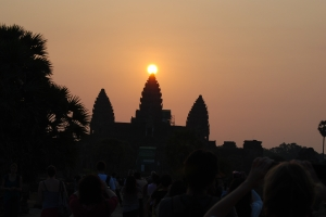 Spring Equinox at Angkor Wat 21 March 2012